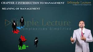 2nd puc business studies chapter 1 introduction to management