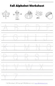 fall letter tracing worksheet education pinterest tracing