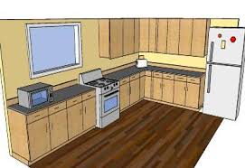 sketchup components 3d warehouse kitchen some kitchen plan