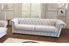 White Sofa Bed Imperial Fabric Chesterfield 3 Seater Sofa With Sofa Bed In