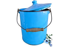 enamel covered pail omero home