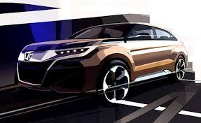 mobil honda sport honda u0027s teases new suv concept coming at auto shanghai 2015