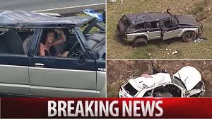 crashed white jeep woman u0027s rant after queensland crash on bruce highway youtube