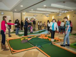 adult mini games mini golf fundraiser in woodbury to help food bank and more