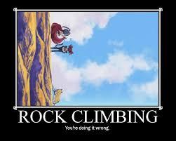 Rock Climbing Memes - rock climbing by hellvyami on deviantart