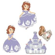 sofia the first foam wall decals everything princesses sofia the first foam wall decals