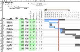 Ms Excel Gantt Chart Template Free Gantt Chart Templates