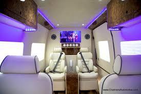 Conversion Van Interiors Luxury Custom Mercedes Benz Sprinter Vans For Sale