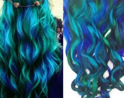 mermaid hair extensions custom lights clip in hair extensions mermaid hair