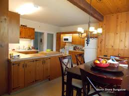 north shore bungalow my knotty pine kitchen
