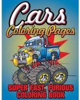 fall savings fast furious cars coloring book