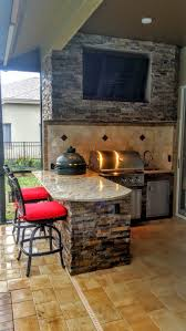 Outdoor Kitchen And Dining Creative Outdoor Kitchens Granite And Stonework Outdoor Kitchen