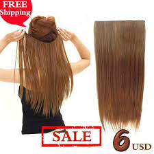 hair extension sale promotion 5 clip in hair extension hair pieces one for