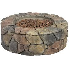 Backyard Fire Pits For Sale by Bcp Stone Design Fire Pit Outdoor Home Patio Gas Firepit Walmart Com