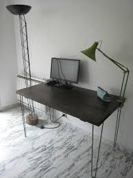 pieds de bureau un bureau avec des pieds en épingle pour chloé créations et