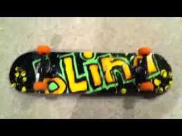 Blind Micro Skateboard Blind Logo Complete Skateboard Youtube