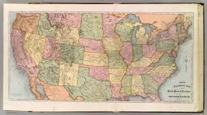 Atlas Map Of Usa by New Railroad Map Of The United States U0026 Territories David