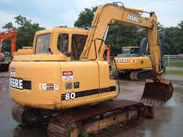 what is the best john deere 80 excavator