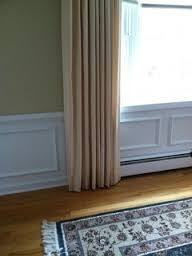 best way to hang curtains best way to hang curtains over electric baseboard google search