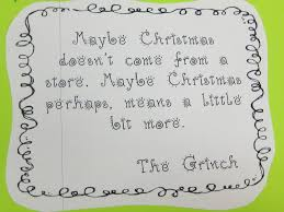grinch writing paper first grade wow grinch day