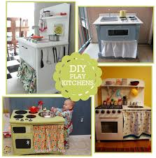 homemade play kitchen ideas diy kitchen play set photo inspiration links giveaway winner