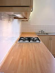 countertops laminate wood countertop stainless steel stove top