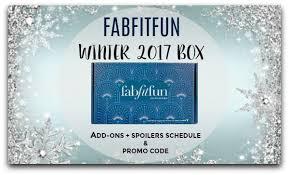 fabfitfun winter 2017 box add ons spoilers schedule promo code