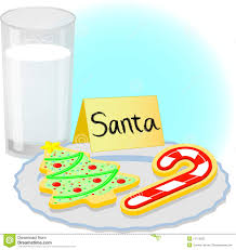 christmas cookies for santa eps stock vector image 11713502