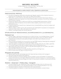 classy resume objective examples for legal assistant on resume