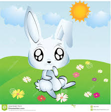 easter bunny for kids stock photography image 18537852