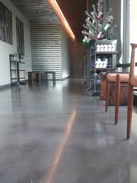 gray concrete floor studio concrete floor