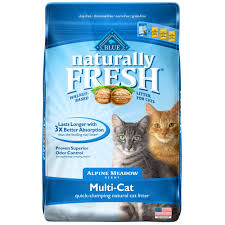 Natural Scent Blue Buffalo Blue Naturally Fresh Alpine Meadow Scent Multi Cat