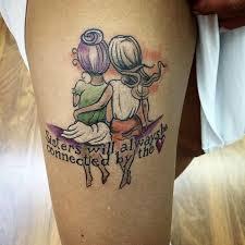 sisters best friends tattoo idea