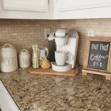 How To Organize Your Kitchen Counter Addicted To Coffee Check Out These 25 Ways To Make It The