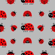 ladybug wrapping paper ladybug ladybird icon set baby collection insect seamless