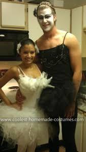 White Swan Halloween Costume Coolest Black Swan Couple Costume Homemade Black Panty Hose