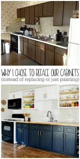 can you reface laminate kitchen cabinets why i chose to reface my kitchen cabinets rather than paint