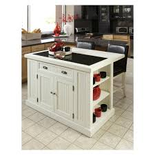 furniture using portable kitchen island with seating for modern antique white portable kitchen island with seating plus open shelves for kitchen furniture ideas