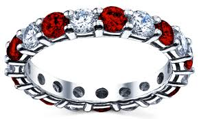 ruby bands rings images 3 carat diamond and ruby eternity band jpg