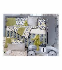 Sweet Potato Crib Bedding Sweet Potato Uptown Traffic 4 Crib Bedding Set