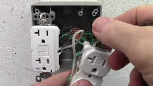 how to wire a double receptacle with 20 amp gfci weather resistant