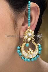 dangler earring designer earring kundan and pearls dangler earring manufacturer