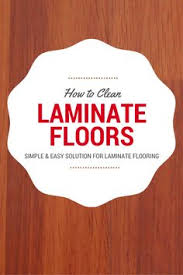 how to clean laminate floors naturally without streaks vinegar