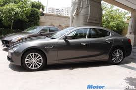 maserati super sport maserati officially re enters india with launch of 4 models