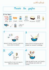 recette cuisine enfant imprimer la recette de la pâte gaufres illustrée chanson enfant