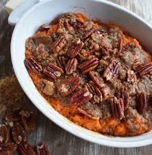 sweet potato thanksgiving recipe sweet potato brown sugar pecan bake modern honey