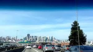 Traffic Map San Francisco by A Car Ride Through San Francisco Bayshore Freeway Hwy 101 During