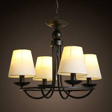 classic lighting chandeliers l shades black iron chain candle