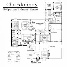 House Plans With Attached Guest House Apartments House Plans With Separate Guest House House Plans