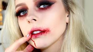 sultry vampire halloween makeup tutorial cosmobyhaley youtube